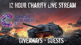 12hr Charity Live Stream - WoT Blitz - Cancer Research