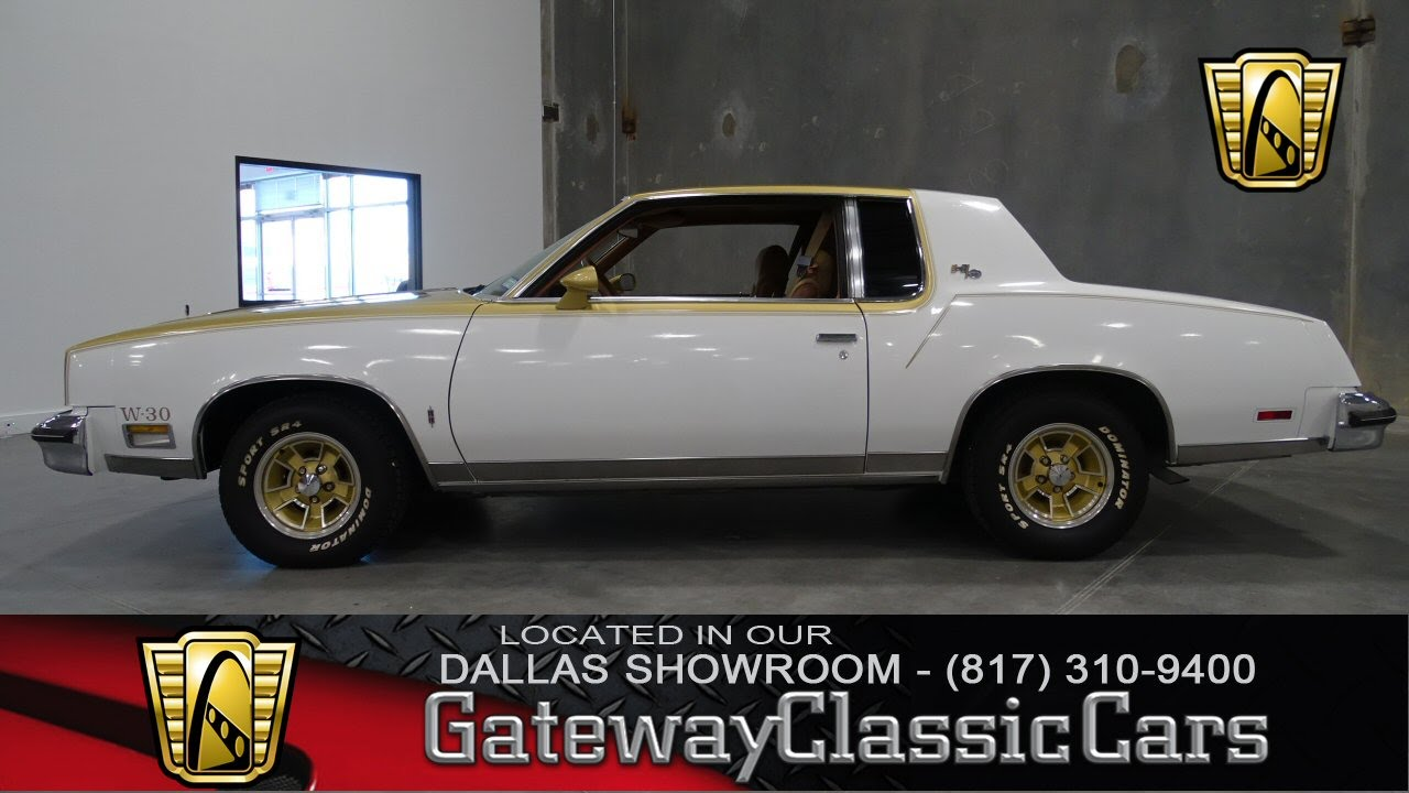 1979 Oldsmobile Cutlass Hurst W 30 Stock #37 Gateway Classic Cars ...