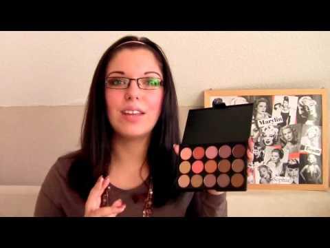Lenka Kosmetik 15 Farben Lidschatten Palette