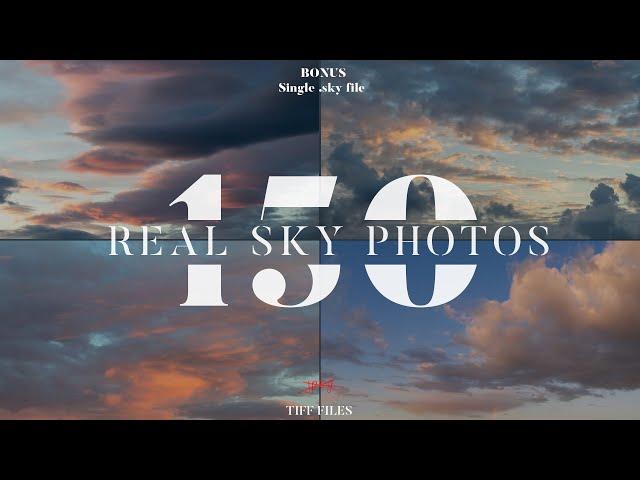 150 Sky tif files
