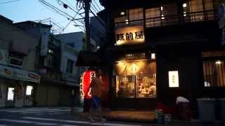 Ningyocho is a very quiet area of Tokyo, and the backstreets of Nin...