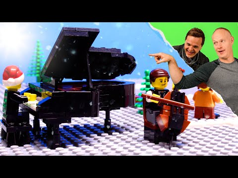 The Piano Guys - All I Want For Christmas Is You (LEGO Music Video) - Mariah Carey