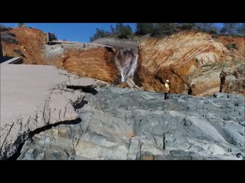 """Oroville 21 March Update """"Rockbolts and Repairs"""""""