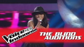 """Tasya """"Fallin"""" I The Blind Auditions I The Voice Kids Indonesia GlobalTV 2016"""