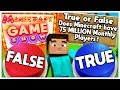 HOW MANY MILLIONS OF PEOPLE PLAY MINECRAFT? - MINECRAFT MODDED GAME SHOW