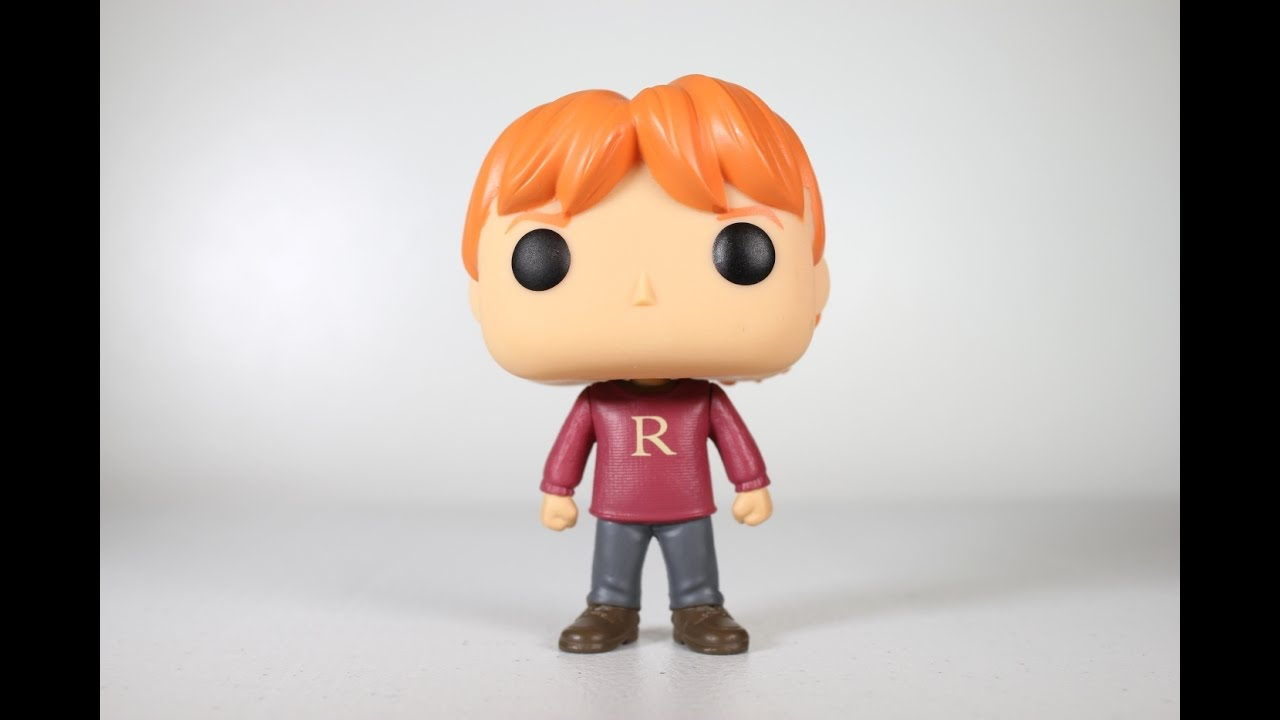 Harry Potter Ron Weasley In Christmas Sweater Funko Pop Review Youtube