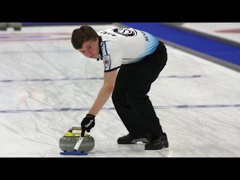 CURLING: BRA-SCO WCF World Mixed Doubles Chp 2014 - Group B