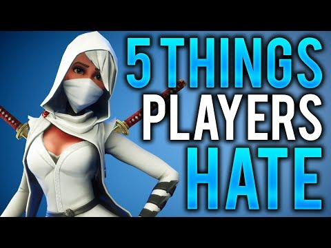 5 Things ALL Fortnite Players Hate