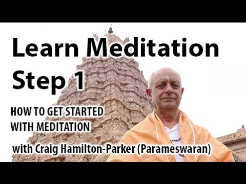 Learn Meditation: How to Meditate for Beginners. A Simple and Easy Technique.
