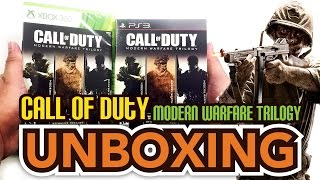 Call of Duty Modern Warfare Trilogy (PS3/Xbox 360) Unboxing !!