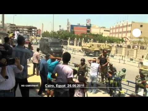 Egypt: violence before ex-ministers' trials - no comment