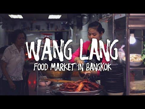 EATING AT WANG LANG MARKET