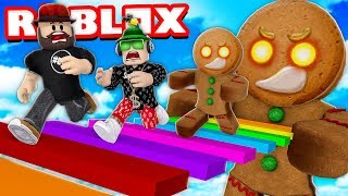 ESCAPE COOKIE MONSTER in ROBLOX CANDYLAND OBBY