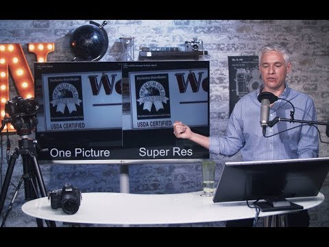 SUPER RESOLUTION: Get More Megapixels! (Free Photoshop Action)