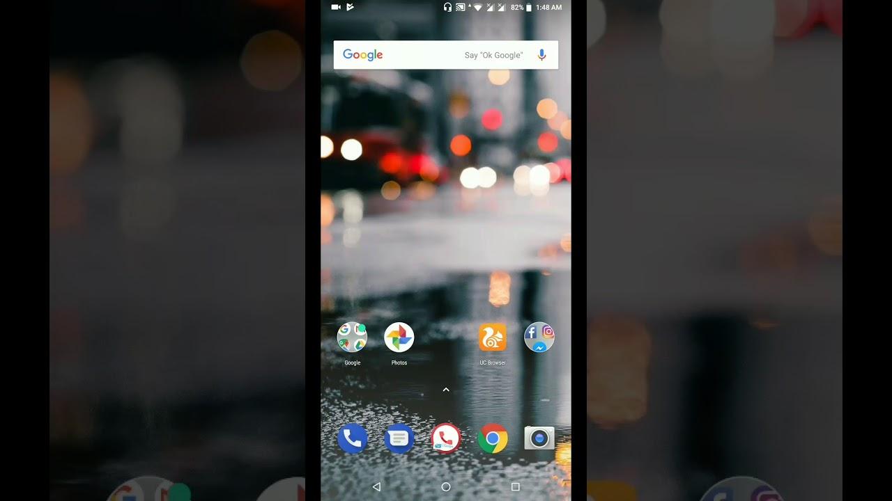 Change lockscreen wallpaper in asus Zenfone max pro m1 - YouTube