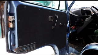 Как обшить салон авто VW T3