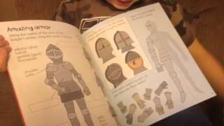 Usborne Little Children's Knight & Castle Activity Book