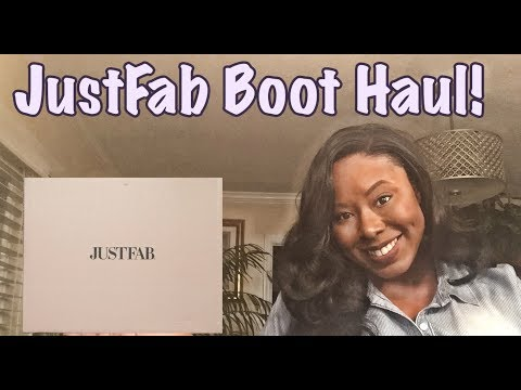 JustFab Shoes | Wide Calf Boots | Haul & Try On