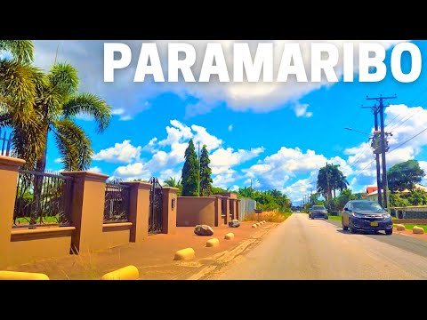 Beautiful Paramaribo City 2021 Suriname