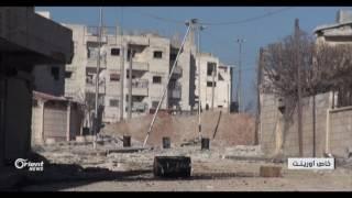 الجيش الحر يسيطر على دوار جحجاح والثانوية الصناعية في مدينة الباب