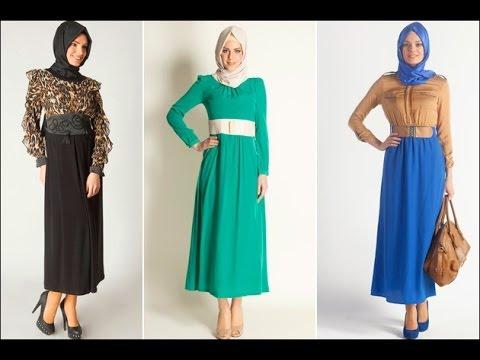 89117ab39d97c فساتين تركي للمحجبات - turkish dresses hijab - YouTube