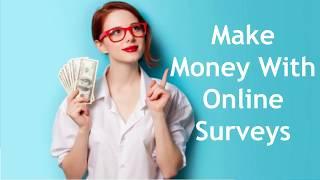 Make Money Online with Surveys 2018 | $20 Per Day