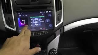 магнитола LeTrun на Chevrolet Cruze 2014 года