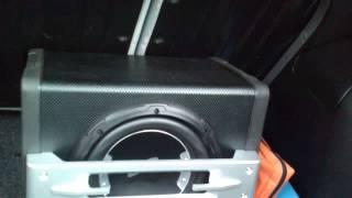400W Subwoofer bass test