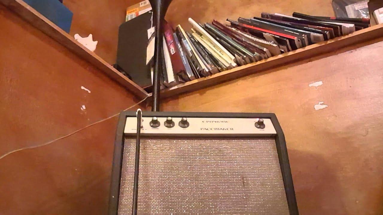 1960s Epiphone Pacemaker Youtube Comet Guitar Amplifier Schematic