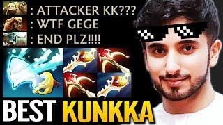 ATTACKER the Best Kunkka with Beautiful Tidebringer + 2 Divine Build Dota 2