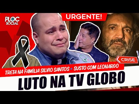 TRISTE PERDA PARA A TV • EX-GLOBAL NO SBT • TRETA COM SÍLVIO SANTOS • SUSTO COM FILHOS DE LEONARDO