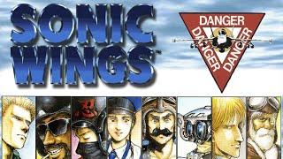 【TAS】-【Longplay】 Sonic Wings/Aero Fighters / SNES