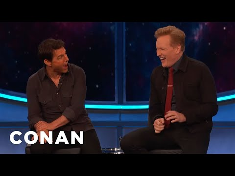 Tom Cruise On His Most Iconic Movie Line - CONAN on TBS