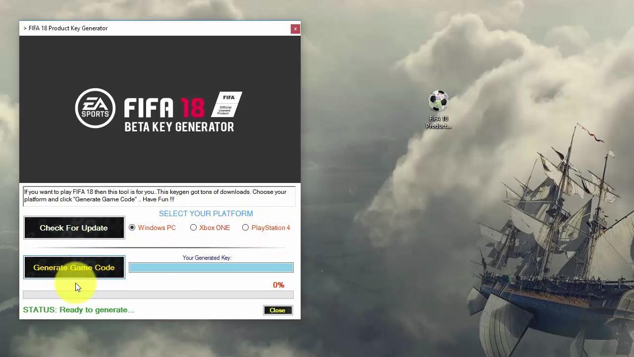 key activation fifa 18 demo