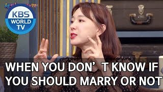 When you don't know if you should marry him or not [Happy Together/2020.02.20]
