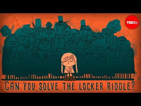 Thumbnail: Can you solve the locker riddle? - Lisa Winer