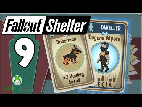New Pet & Crafting Rare Weapons! - Fallout Shelter Xbox One/Win 10 Gameplay - Part 9