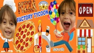 BIGGEST PIZZA IN Roblox: Pizza Tycoon #ROBLOX #SJFTOYS #PIZZATYCOON