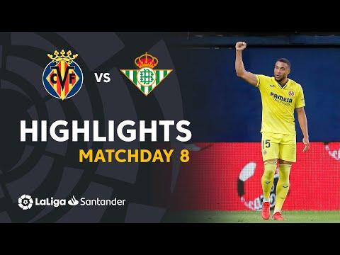 Villarreal Betis Goals And Highlights