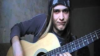 �������� ���� NIKITA'S BASS SCHOOL-how u can play sollo at bass guitar ������
