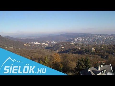 Normafa Webkamera - egy szép novemberi nap képei