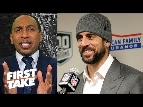 Aaron Rodgers has been unfairly victimized by former Packers teammates - Stephen A. | First Take