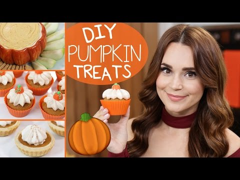 Download Youtube: DIY PUMPKIN TREATS!