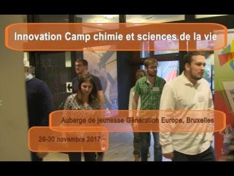 Innovation Camp chimie et sciences de la vie - 29-30/11/2017