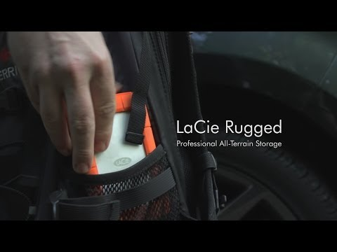 Video thumbnail for Lacie Rugged Thunderbolt USB-C 4TB