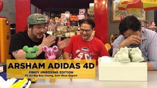 PINOY UNBOXING: DANIEL ARSHAM x ADIDAS 4D FUTURECRAFT (ft. DJ BIG BOY CHENG, ANTI-SHOE EXPERT)