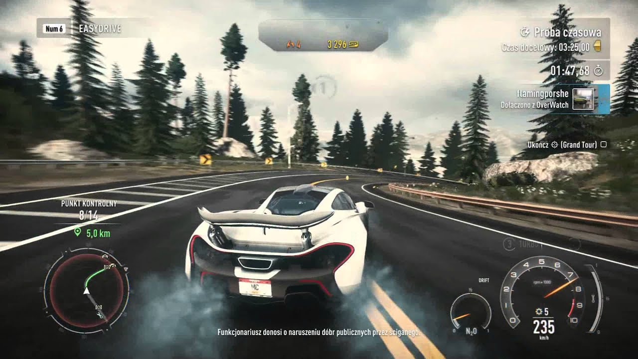 need for speed rivals pc mclaren p1 time trial. Black Bedroom Furniture Sets. Home Design Ideas