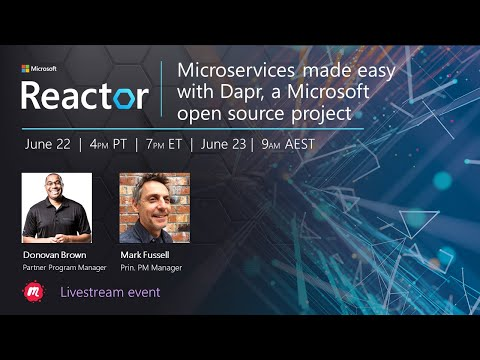 Microservices Made Easy with Dapr, A Microsoft Open Source Project