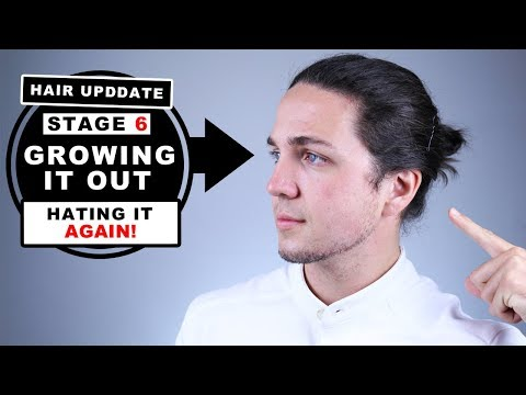 Hair Update | Stage 6 Growing My Hair Out - Men's Undercuts