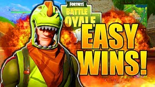 HOW TO GET EASY WINS IN FORTNITE HOW TO GET MORE WINS FORTNITE HOW TO GET BETTER TIPS AND TRICKS!